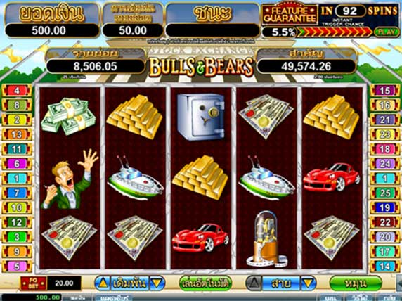 goldclub bull slot